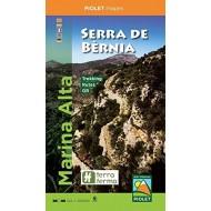 Marina Alta-Serra de Bernia Editorial Piolet