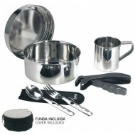 1 Person Cooking Set + Cover Laken