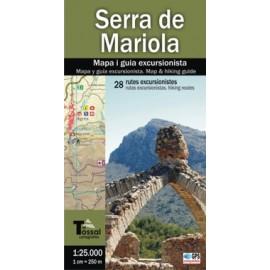 Serra de Mariola: Mapa i guia excursionista Ed. El Tossal Cartografiesa of El Tossal Cartografies