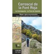 Carrascal de la Font Roja: La Carrasqueta - La Foia de Castalla Ed. El Tossal Cartografies