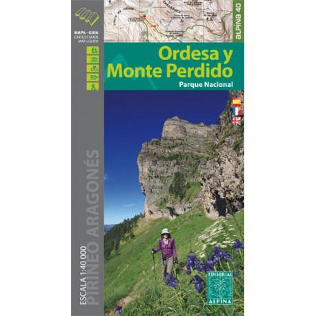 Ordesa y Monte Perdido Editorial Alpina