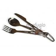 Titanium Spoon / Fork / Knife Set Vargo