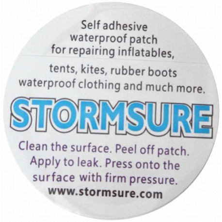 Adhesive Circular Patch 75 mm Stormsure