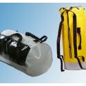 Petates, mochilas, accesorios.